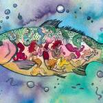 """""""Rainbow Trout"""" by createdcreating"""