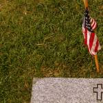 """Flag and grave marker"" by nayr"