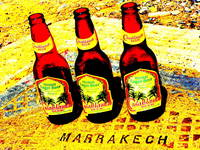 CASABLANCA BEER IN MARRAKECH !