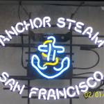 """anchor steam sign"" by amarkron"