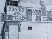 brains,drive in, sign in st.louis.ms,funny sign