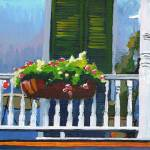 """wooden balcony"" by tica"