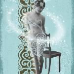 """Blue Lady"" by gothicgeiko"
