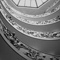 Vatican Stairs Art Prints & Posters by LM Burkman