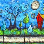 """Magical Moonlight Drive"" by juliryan"