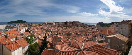 Dubrovnik Old Town Panorama