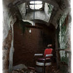 """Prison Barber Chair"" by fusionphoto"