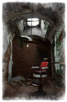 Prison Barber Chair