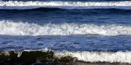 Waves on Coquina beach V