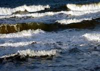 Waves on Coquina Beach VII