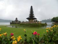 Bedugul in rainy day