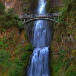 """0026 Multnomah Falls Columbia River Gorge"" by vincentlouis"