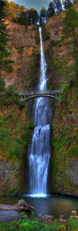 0026 Multnomah Falls Columbia River Gorge