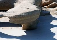 Sculpted Table at Coquina Beach