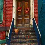 """Door on Broadway, Jim Thorpe PA"" by LuciaH"