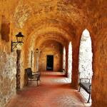 """Mission Arches in San Antonio"" by LuciaH"