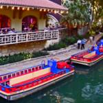 """Boats on the Riverwalk - San Antonio TX"" by LuciaH"