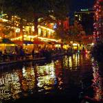 """Nightlife on the Riverwalk - San Antonio, TX"" by LuciaH"