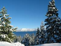 Tahoe In Winter
