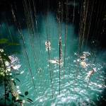 """The Sacred Blue Cenote"" by robvena"