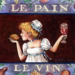 """Le Pain/Le Vin"" by thefrencheasel"