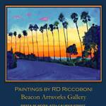 """La Jolla Sunset by RD Riccoboni™"" by BeaconArtWorksCorporation"