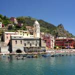 """Vernazza Harbor Pano_Edit_filtered"" by scingram"