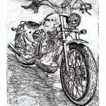 """Motorcycle by Riccoboni"" by RDRiccoboni"