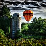 """Barn Fly-by bright"" by Swackman"