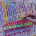 """""""Risa on Pearl Street"""" by LauraJones"""