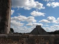 Chichen Itza Cloud Formation