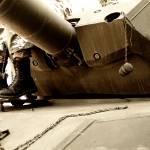 """Man on a tank"" by casteddaiu"