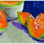 """""""Cantaloupe"""" by bethhayesart"""