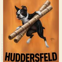 Huddersfeld Hazelnut Wafer Straws Art Prints & Posters by Chad Otis