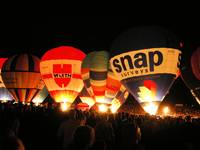 Nightglow At The Bristol Balloon Fiesta