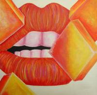 Orange and Yellow Lips
