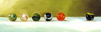 The Row of Marbles