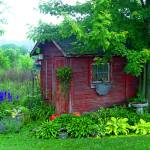 """Garden Shed"" by fotoguy49057"