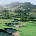 """""""Golfing in California Wine Country"""" by AudieDunham"""