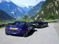 Lotus Elise & TVR in The Swiss Alps