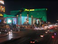 MGM Grand, Las Vegas At Night