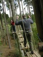Go Ape Assault Course