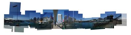 Darling Harbour - Sydney, Australia (Panoramic)
