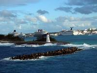 Nassau Harbor and Lighthouse