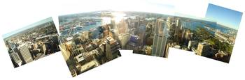 SYDNEY from the Sky Tower (Panoramic)