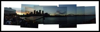 Open Air Cinema - Sydney Australia (Panoramic)