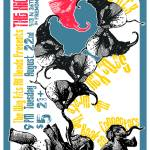 """The High Dive 082206 Gig Poster"" by nifty"