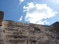 Chichen Itza Temple Stairs