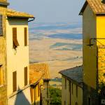 """View from Montalcino, Tuscany"" by Conlawprof"