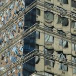 """""""Glass reflections on high rise in New York DSC_538"""" by eran"""